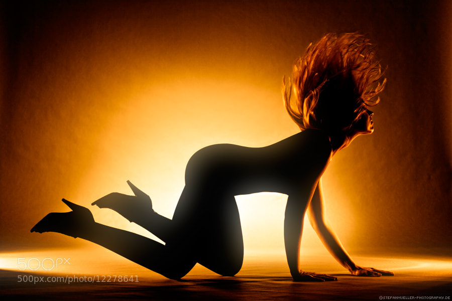 Photograph Jules on fire by Stefan Mueller on 500px