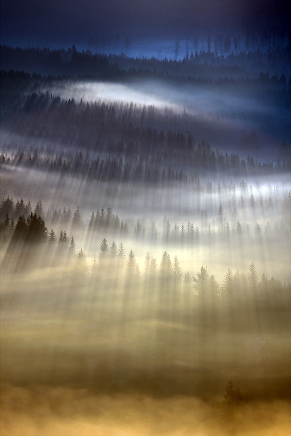 Photograph First rays by Marcin Sobas on 500px
