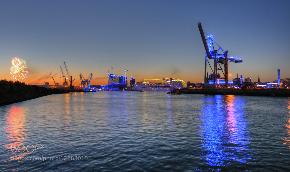 Photograph Blue Port Hamburg 2012 Part II by Luna Pictures on 500px