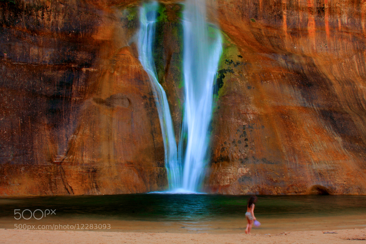 Photograph Calf Creek Waterfall, Utah by Ash Lindsey on 500px