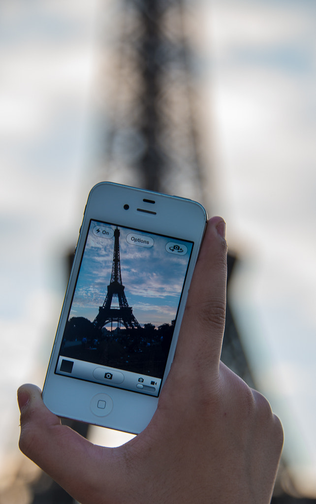 Photograph eiffel tower iphone  by Ahmed Alhammad on 500px