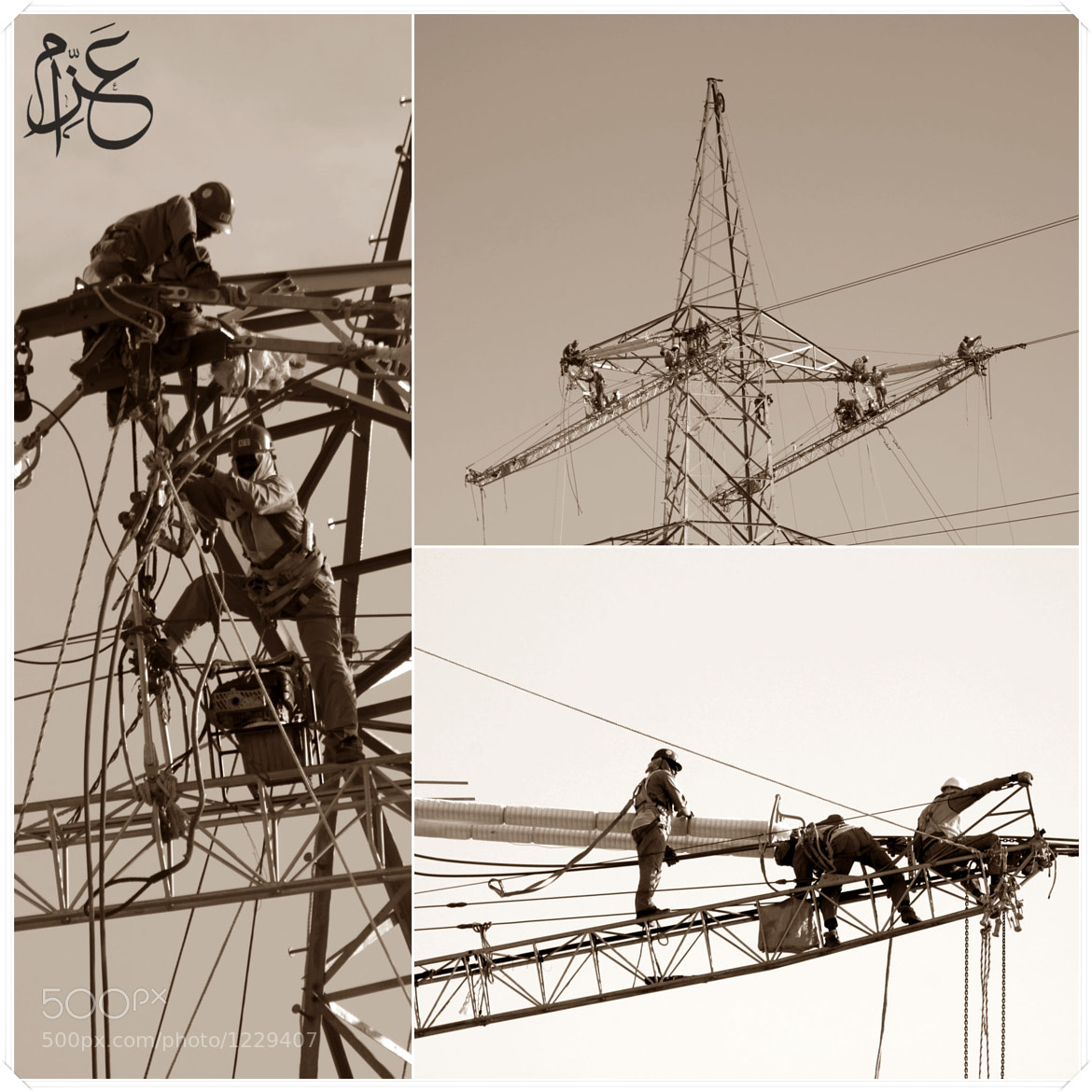 Photograph Power lines ppl by Abdel Rahman  azzam on 500px