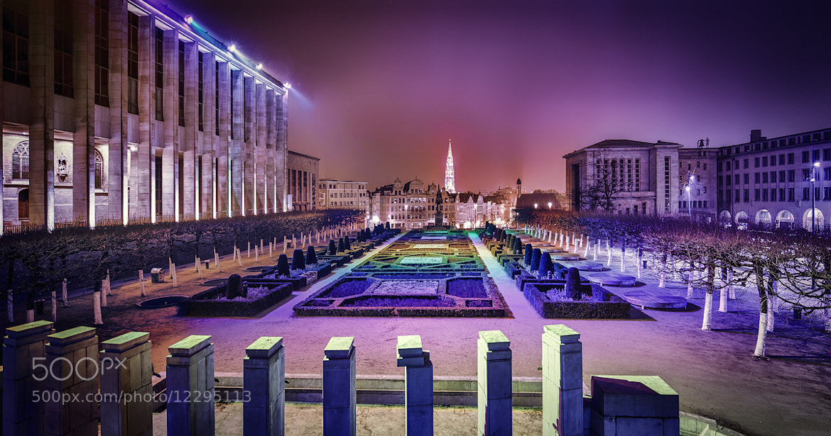 Photograph Mont des Arts by Frank  on 500px