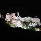 Spiš Castle Floating In The Night