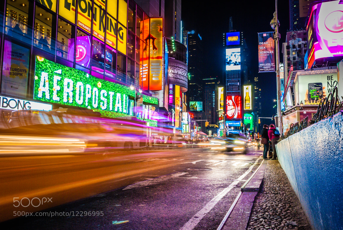 Photograph Times Square by Bradley Kalpin on 500px