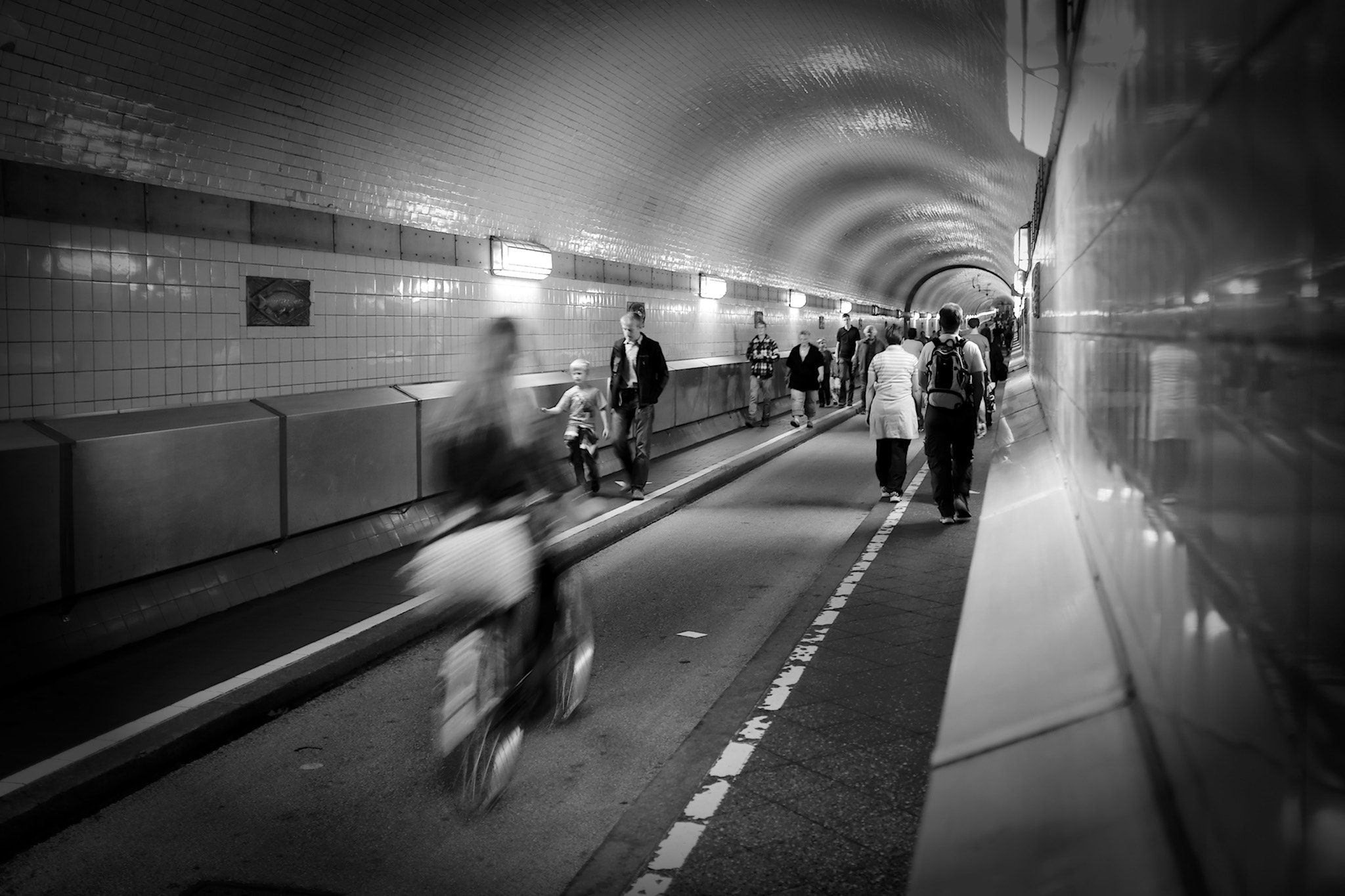 Photograph Rushing the Tunnel by Michael Scheinost on 500px