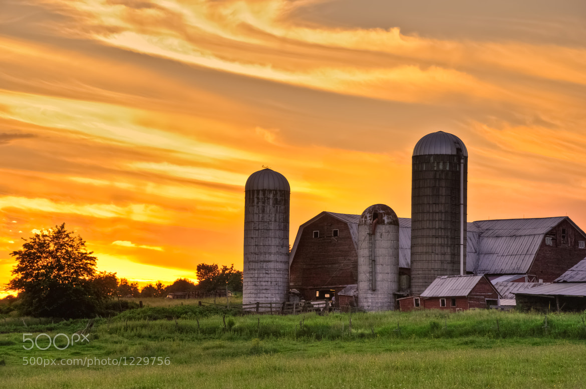 Photograph Tonight Was a Real Barn Burner by Stephen Puliafico on 500px