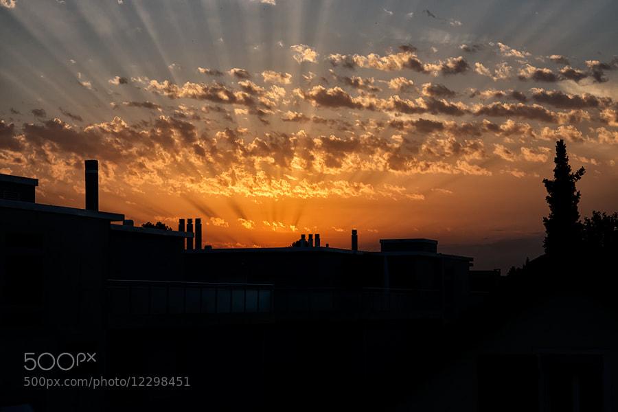 Photograph sunbeams by Sandra Löber on 500px