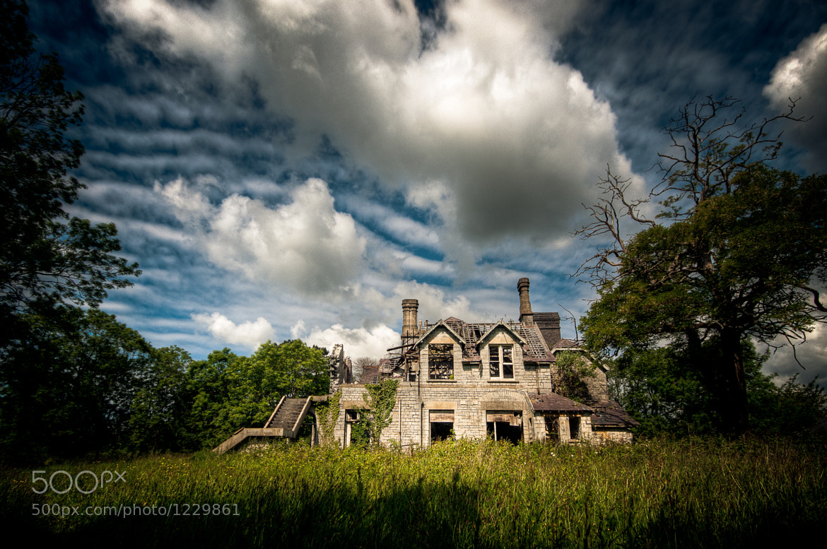Photograph Abandoned Home by Richard Saunders on 500px