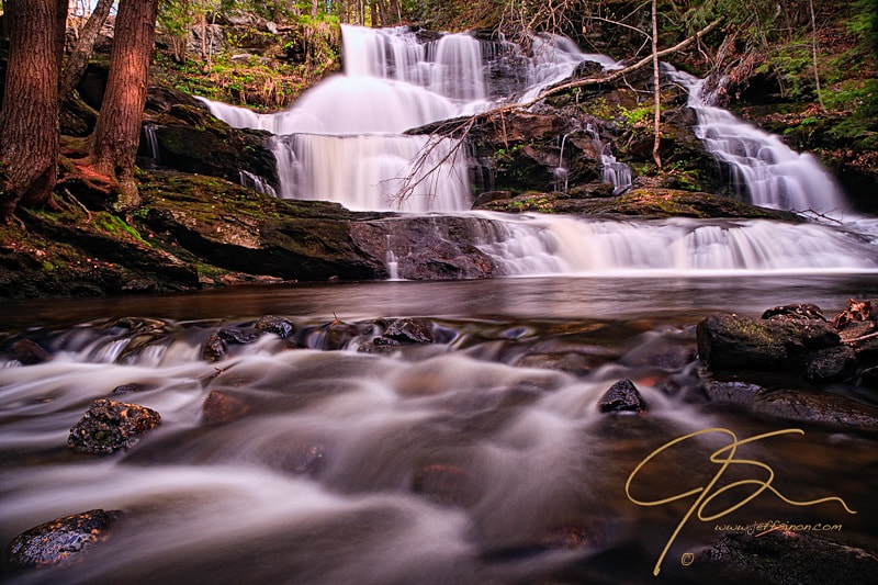 Photograph Garwin Falls, Spring. by Jeff Sinon on 500px