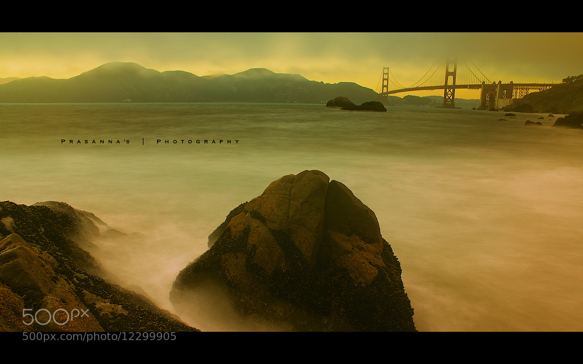 Photograph Golden Gate mystery  by Prasanna Venkatesh Ravichandran on 500px