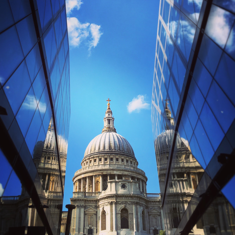 On reflection - The dome of St Paul