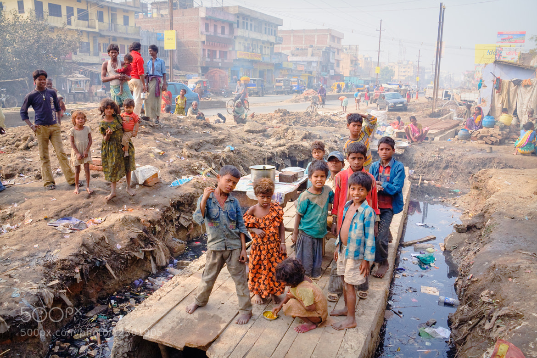 Photograph Slums of Patna, the capital of Bihar by Birukov Yury on 500px