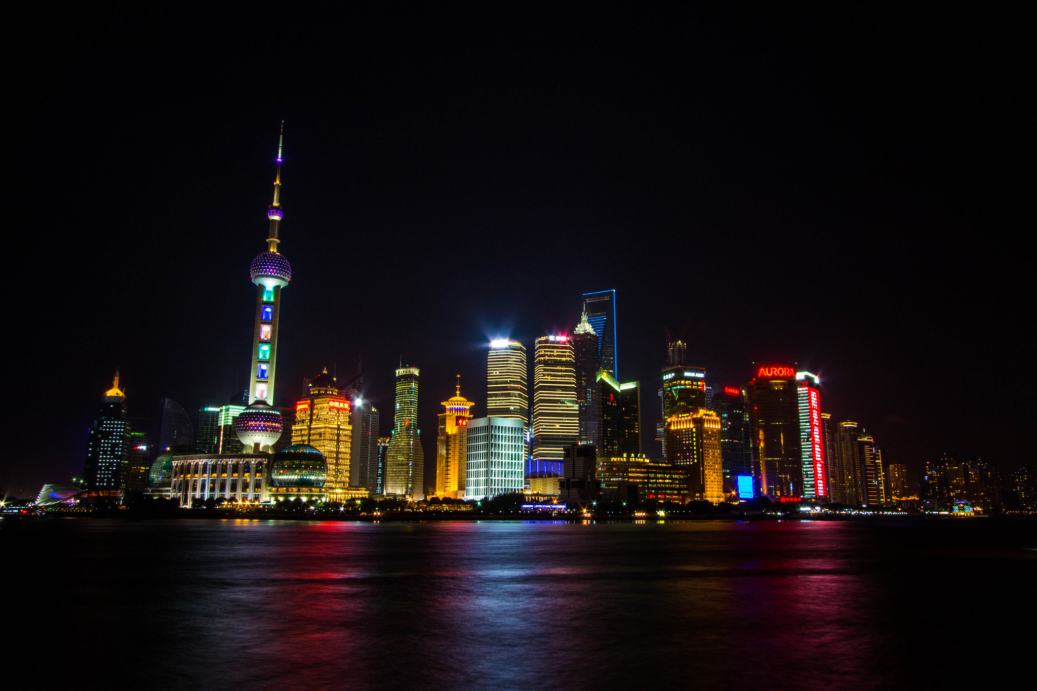 Photograph Pudong Nightscape by Kevin Yang on 500px
