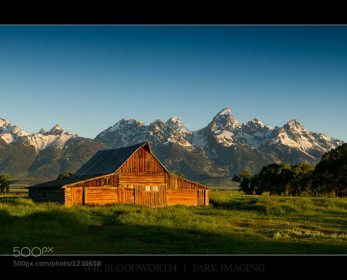 Photograph Thomas Moulton Homstead - Summer 2011 by Wil Bloodworth on 500px