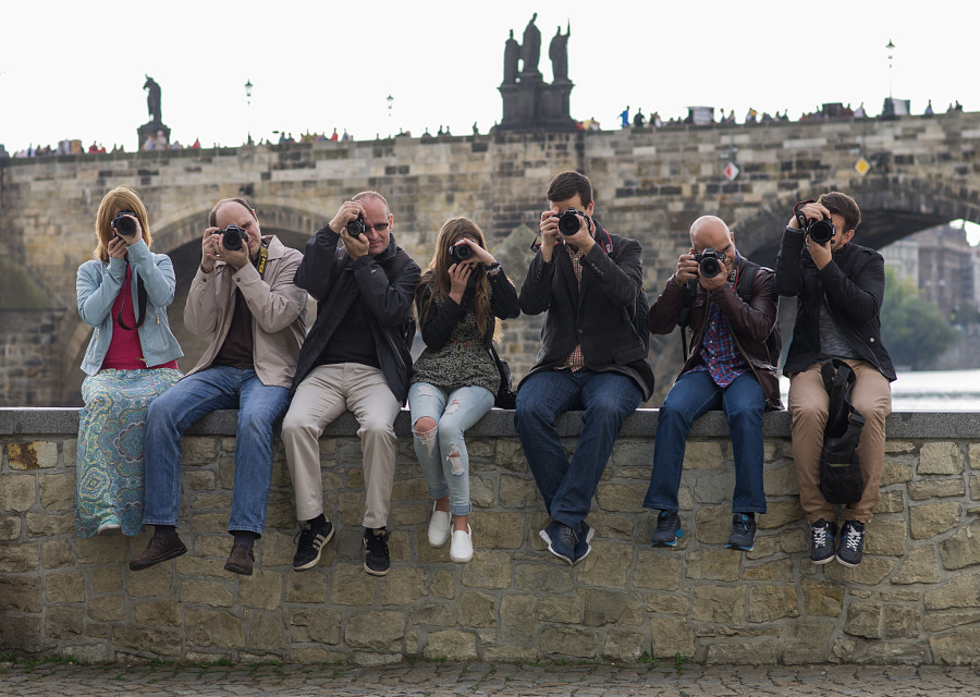 Prague Photowalkers by Dmitry Ganich on 500px.com