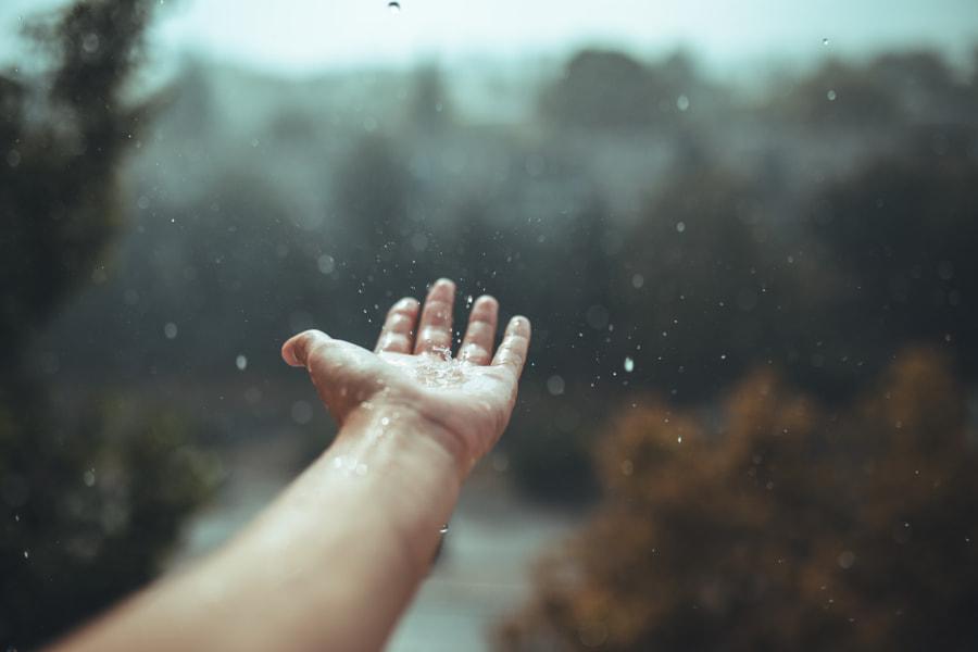 Raindrops falling by Igor Salkov on 500px.com