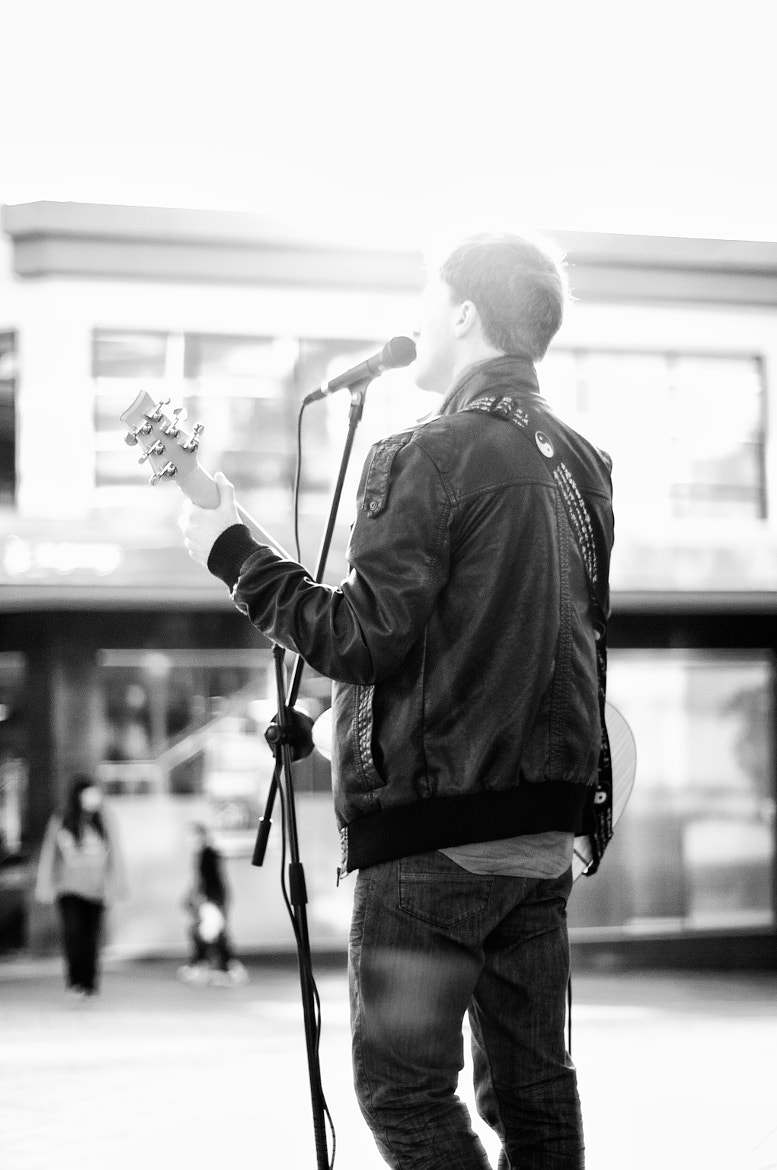 Photograph Busker by James Cook on 500px