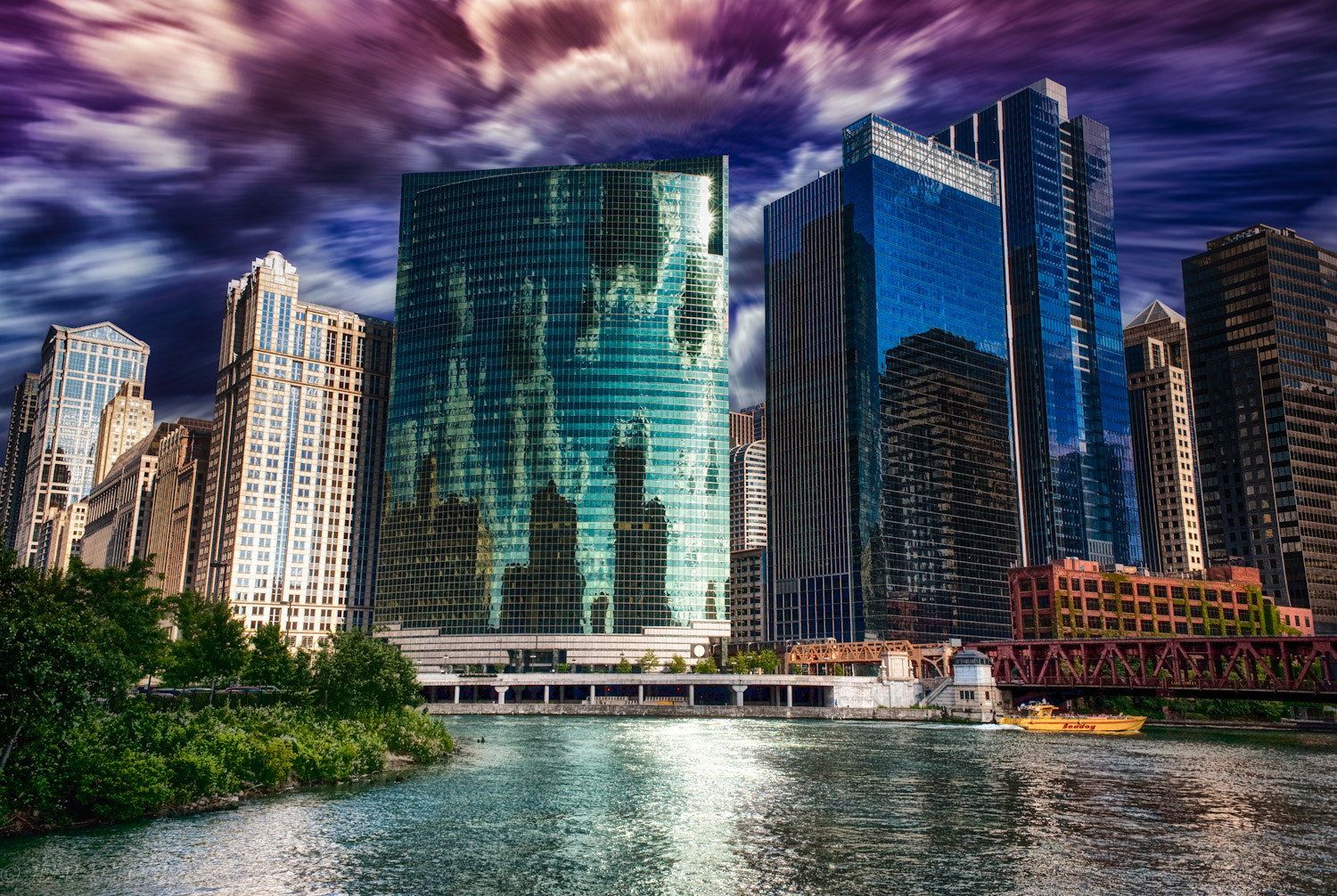 Photograph Fast City Chicago by Bryant Feaster on 500px
