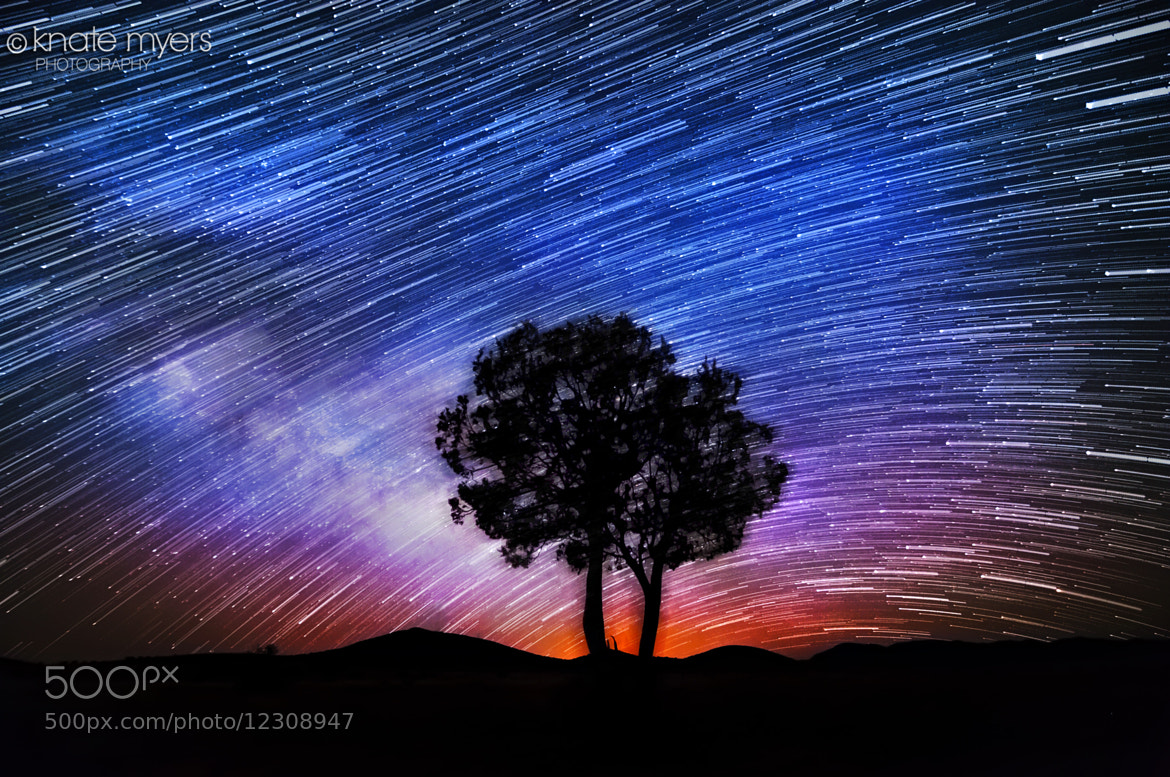 Photograph Spinning - Star Trails by Knate Myers on 500px