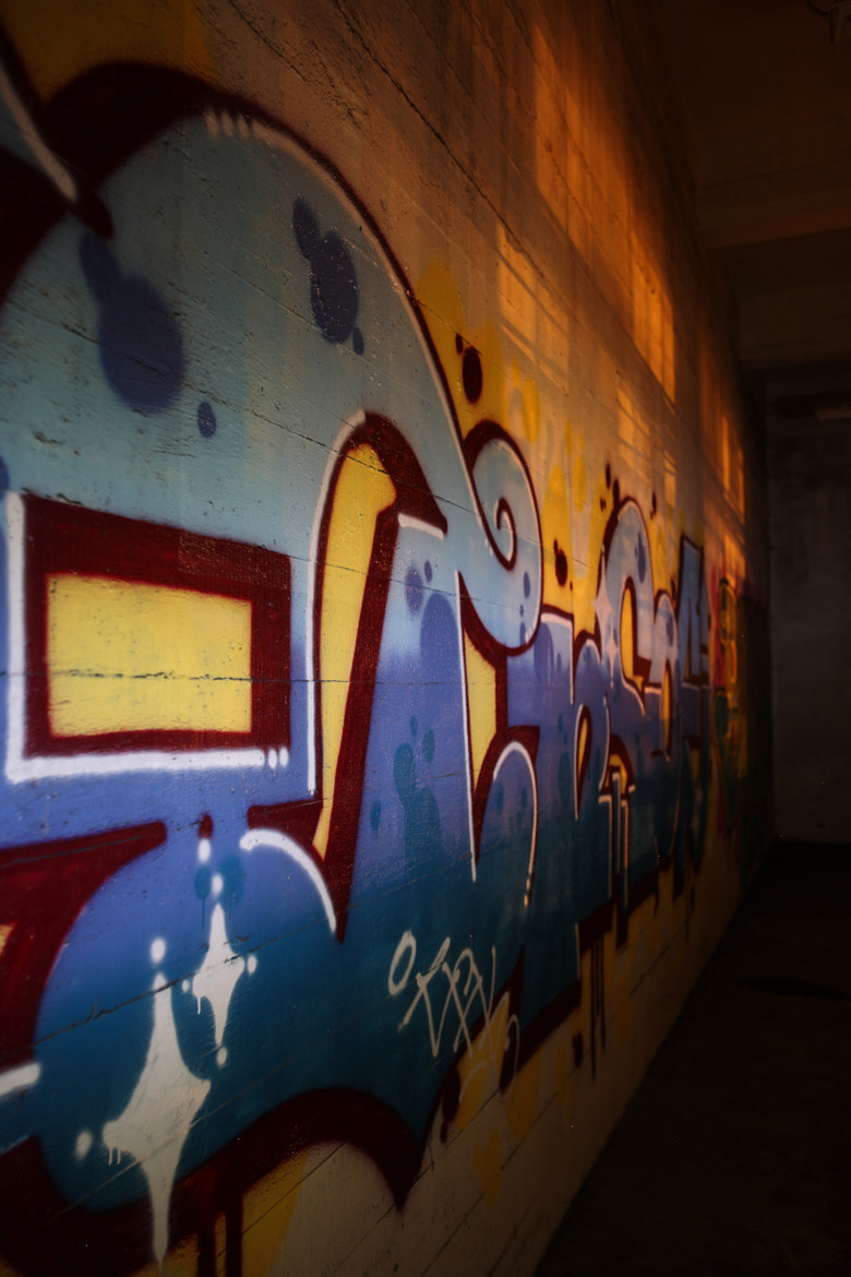Photograph The Writing on the Walls by Benjamin Peyronnin on 500px