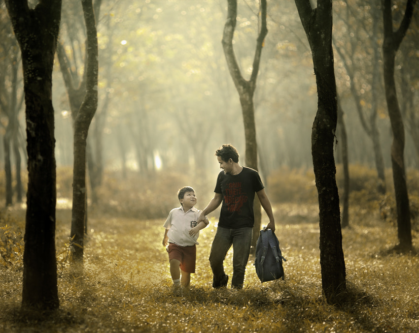 Photograph Father n Son by JD Ardiansyah on 500px