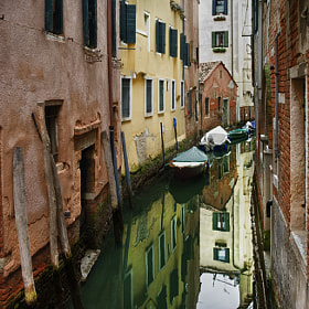 Small streets Venice. by Olga Shiropaeva (Olga_Shiropaeva)) on 500px.com