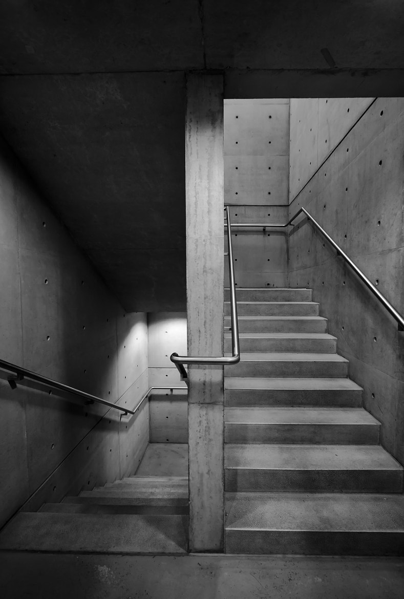 Photograph concrete stairs by Jasper van den Heuvel on 500px