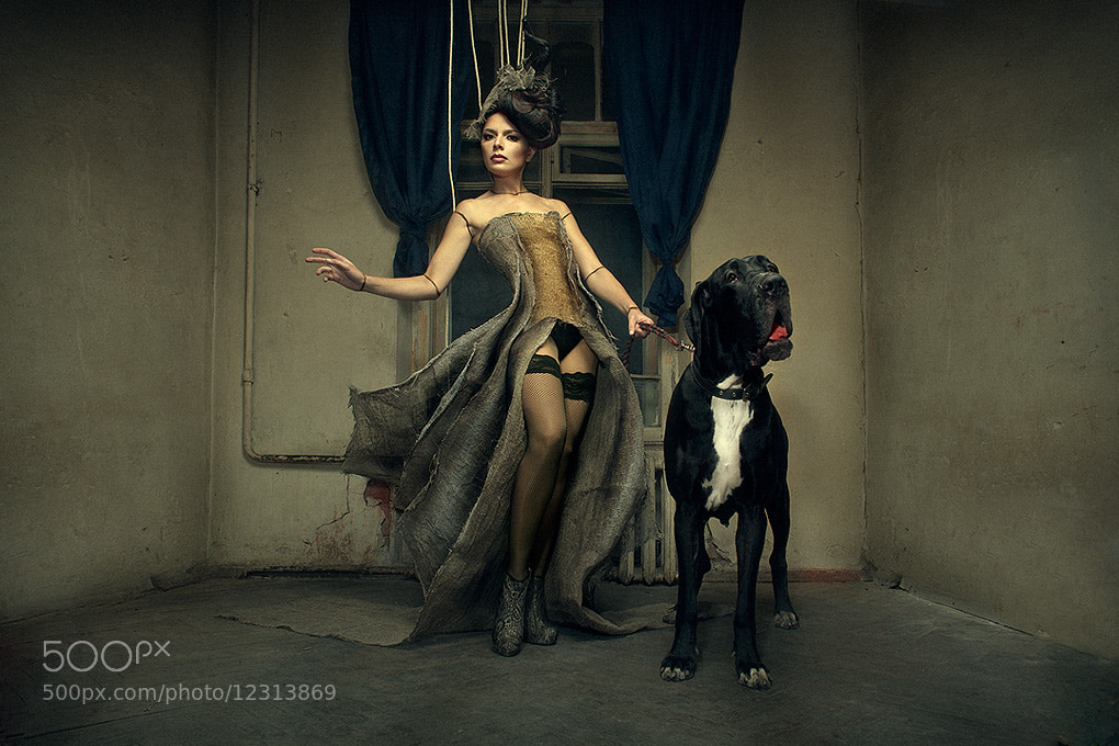 Photograph  The Lady with the little dog (Vol. 1) by Kezzyn Waits on 500px
