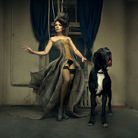 The Lady with the little dog (Vol. 1) by Kezzyn Waits (kabinet19)) on 500px.com