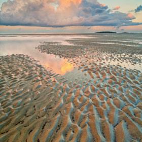 Low Tide at Tybee Island by Julian De La Rosa III (JulianD) on 500px.com