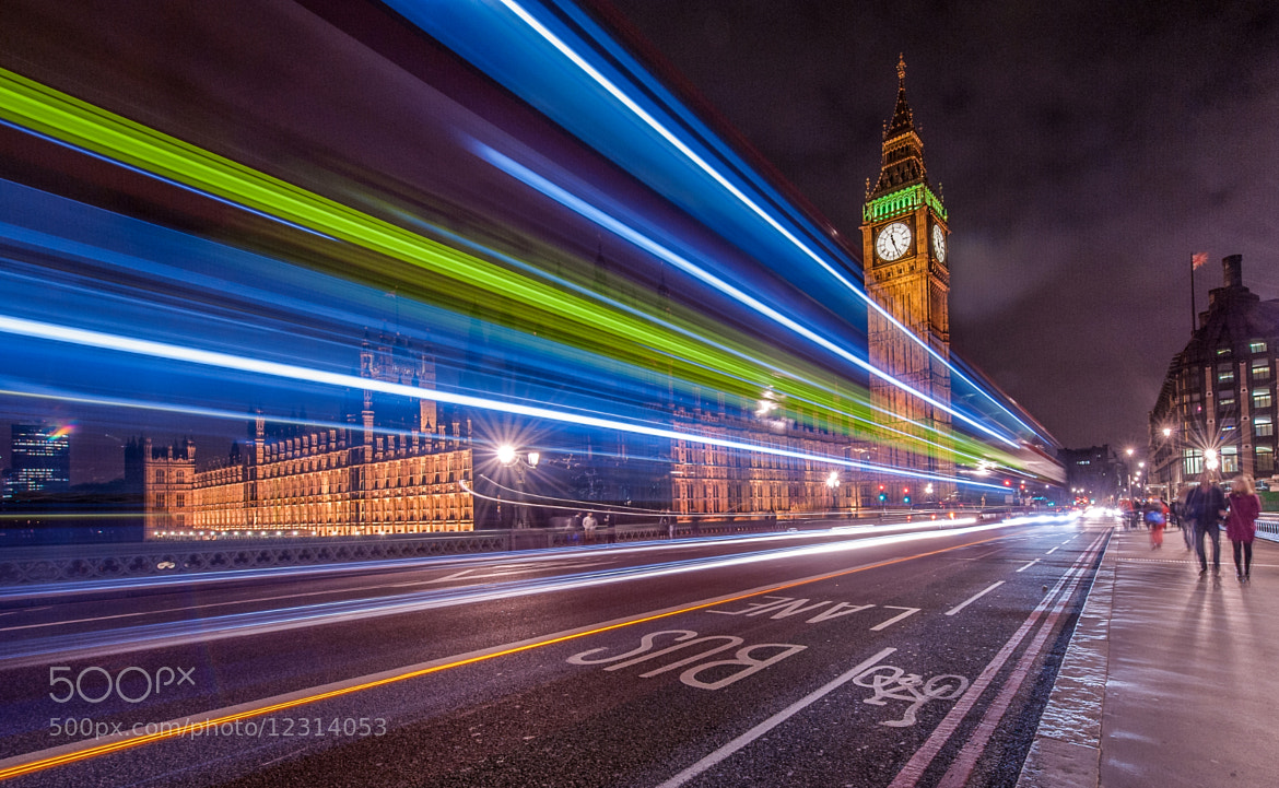 Photograph Big Ben Big Bus by WilsonAxpe /  Scott Wilson on 500px