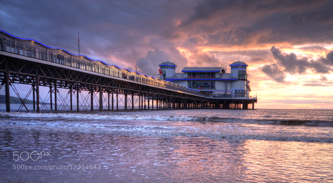 Photograph Western Super Mare Pier by Karl Batchelor on 500px
