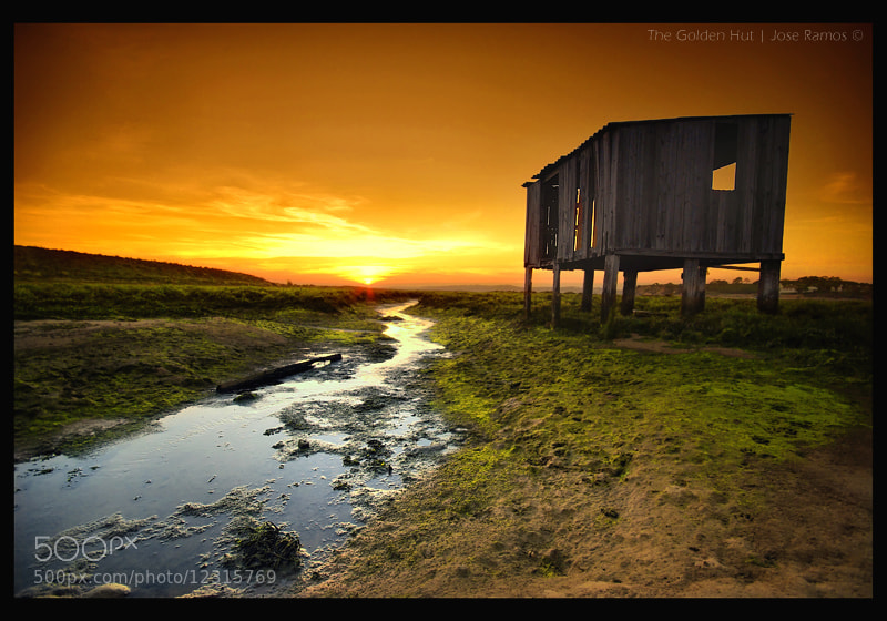 Photograph The Golden Hut by José Ramos on 500px