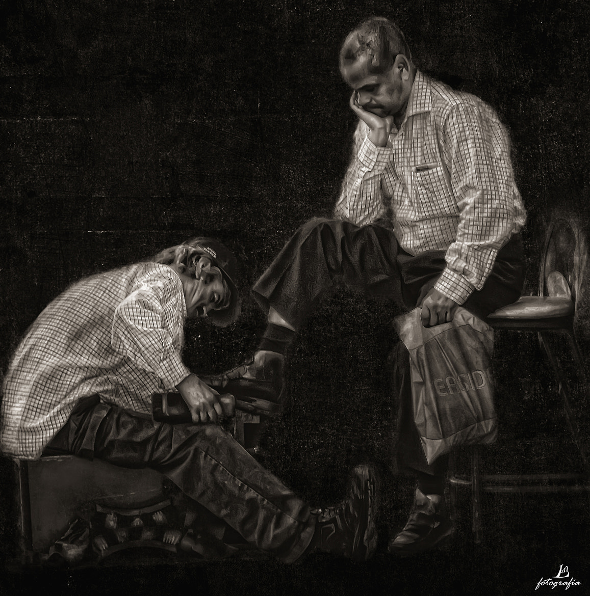 Photograph The shoeshine by Manuel Lancha on 500px