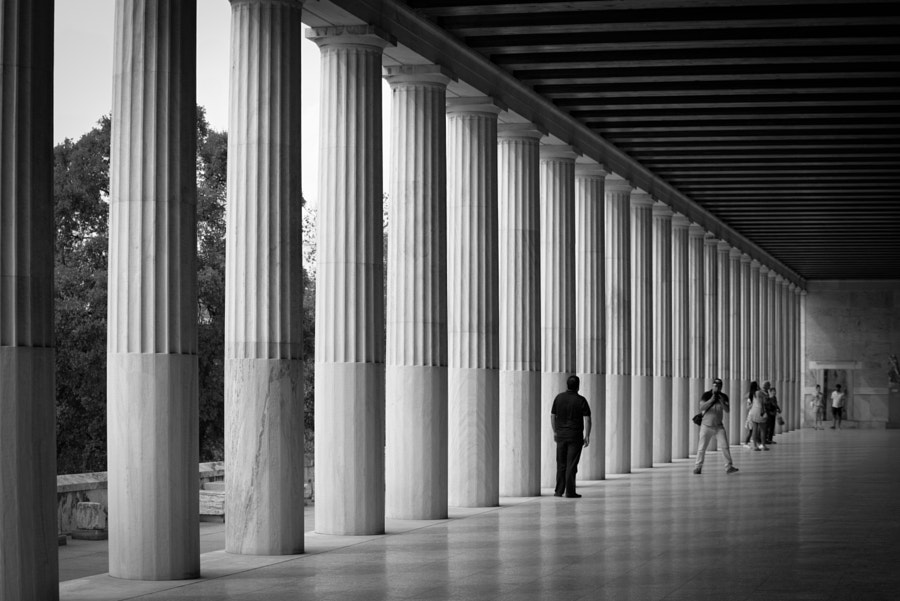 Stoa of Attalos by Giorgos Zaha on 500px.com