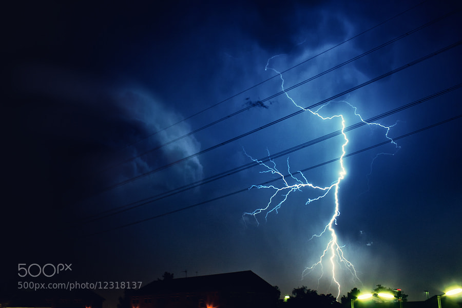 Photograph Lightning, Strike. by Jean-Paul Beetz on 500px