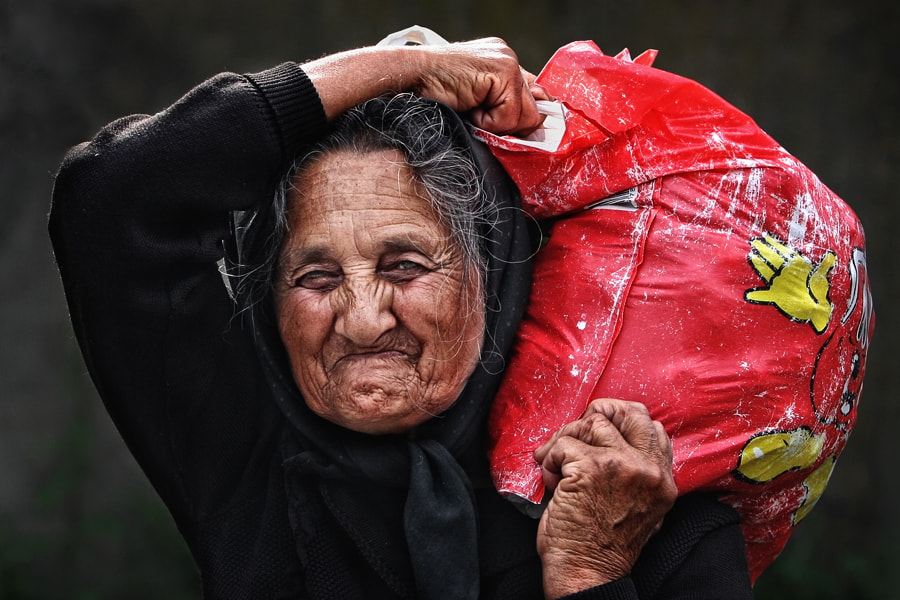 """Photograph """"Years of """"baggage by Osher Partovi on 500px"""