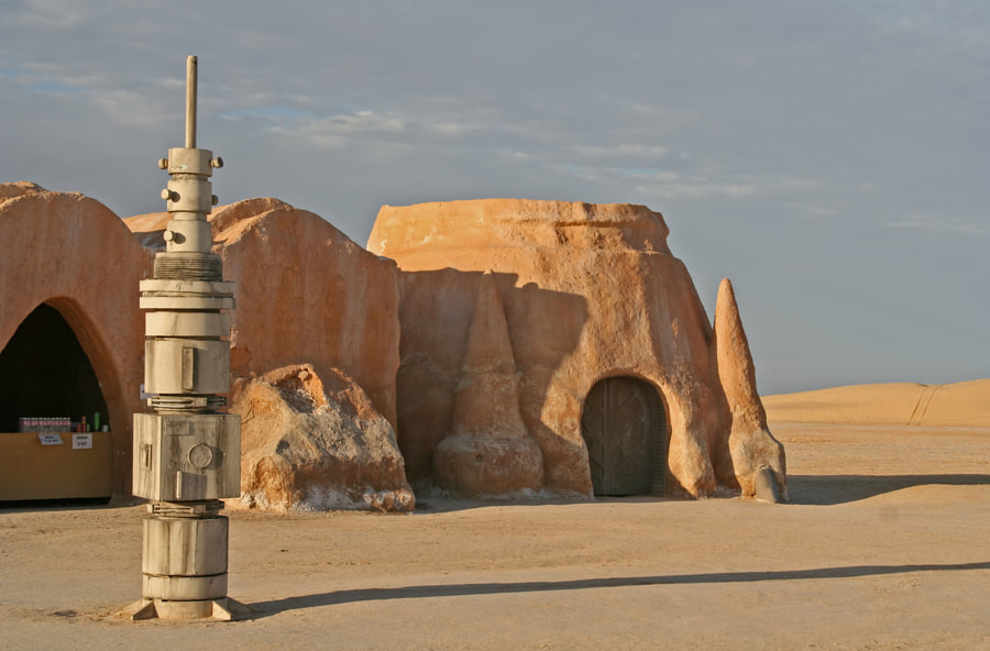 Star Wars movie set, Tunisia, Sahara Desert by Renee Vititoe on 500px.com