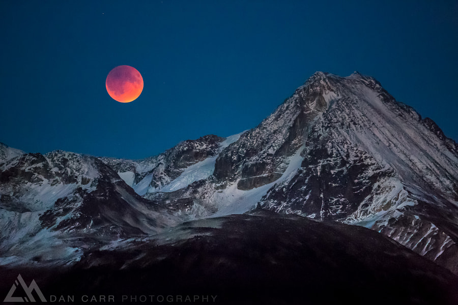 Blood Moon Rising de Dan Carr en 500px.com