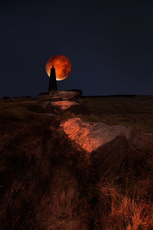 blood moon by David Hobcote on 500px.com