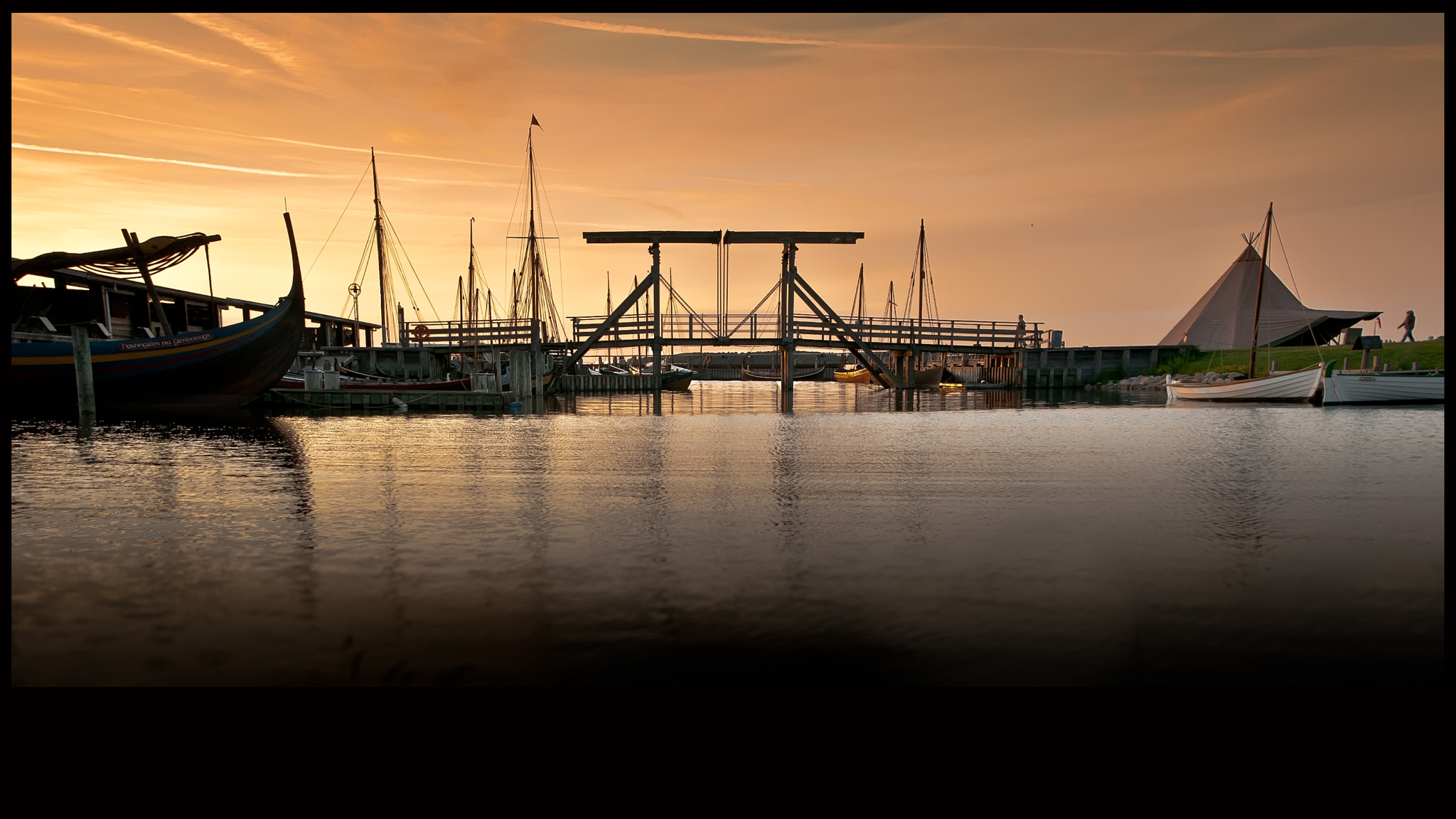 Photograph Viking Harbour Roskilde by René Bang Photography on 500px