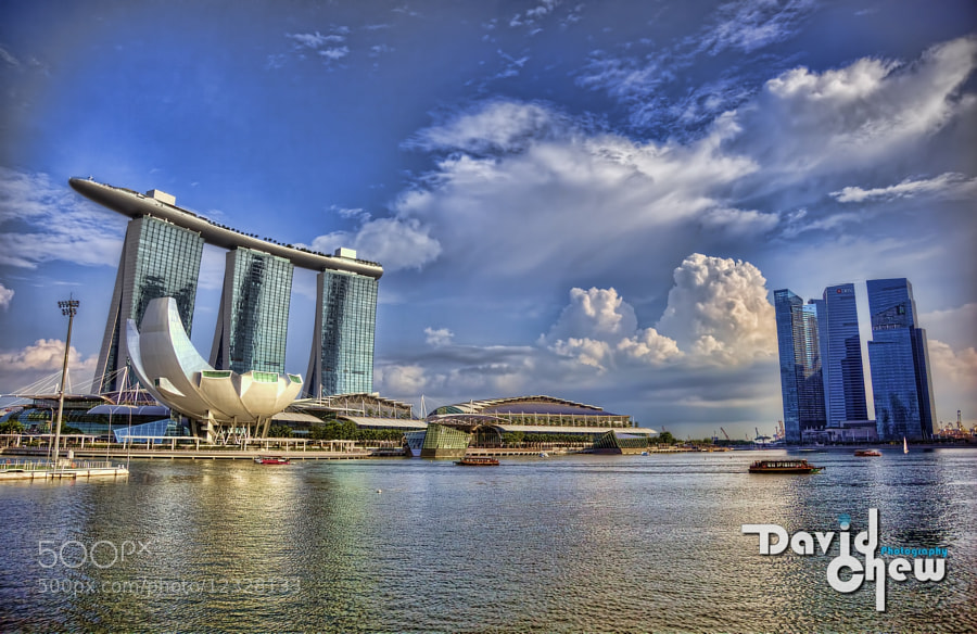Photograph Marina Bay Sands by David Chew on 500px