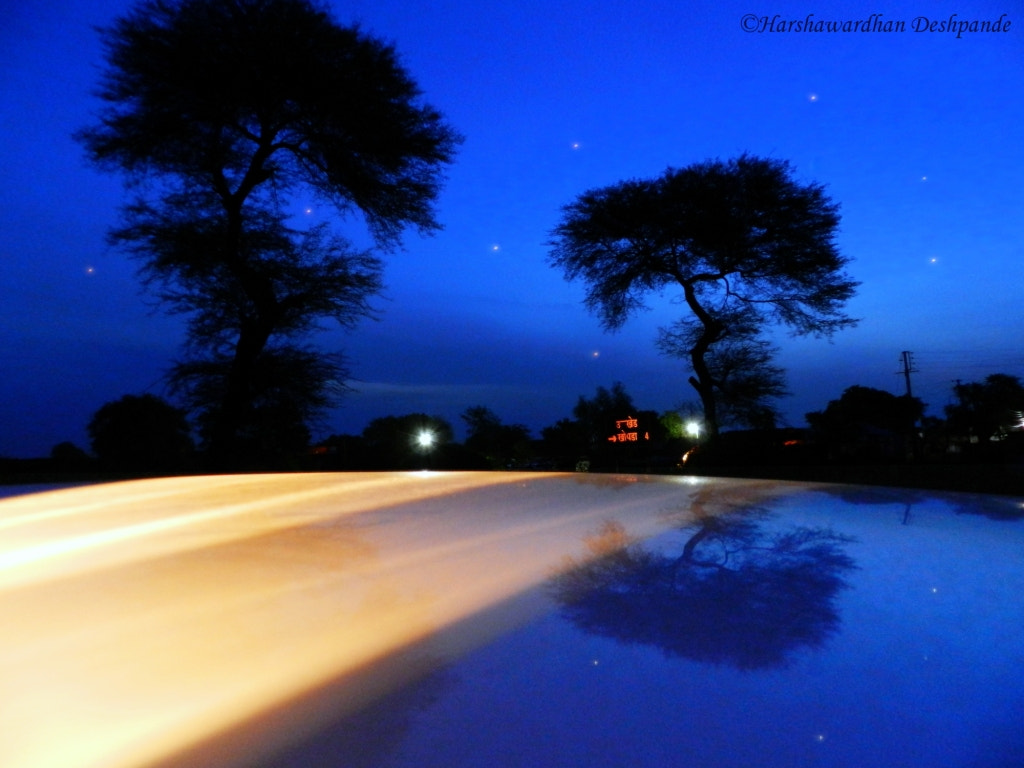 Photograph  early morning blu by Harshawardhan Deshpande on 500px
