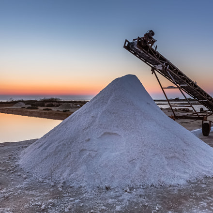 Salt Marshes, Trapani, Sicily