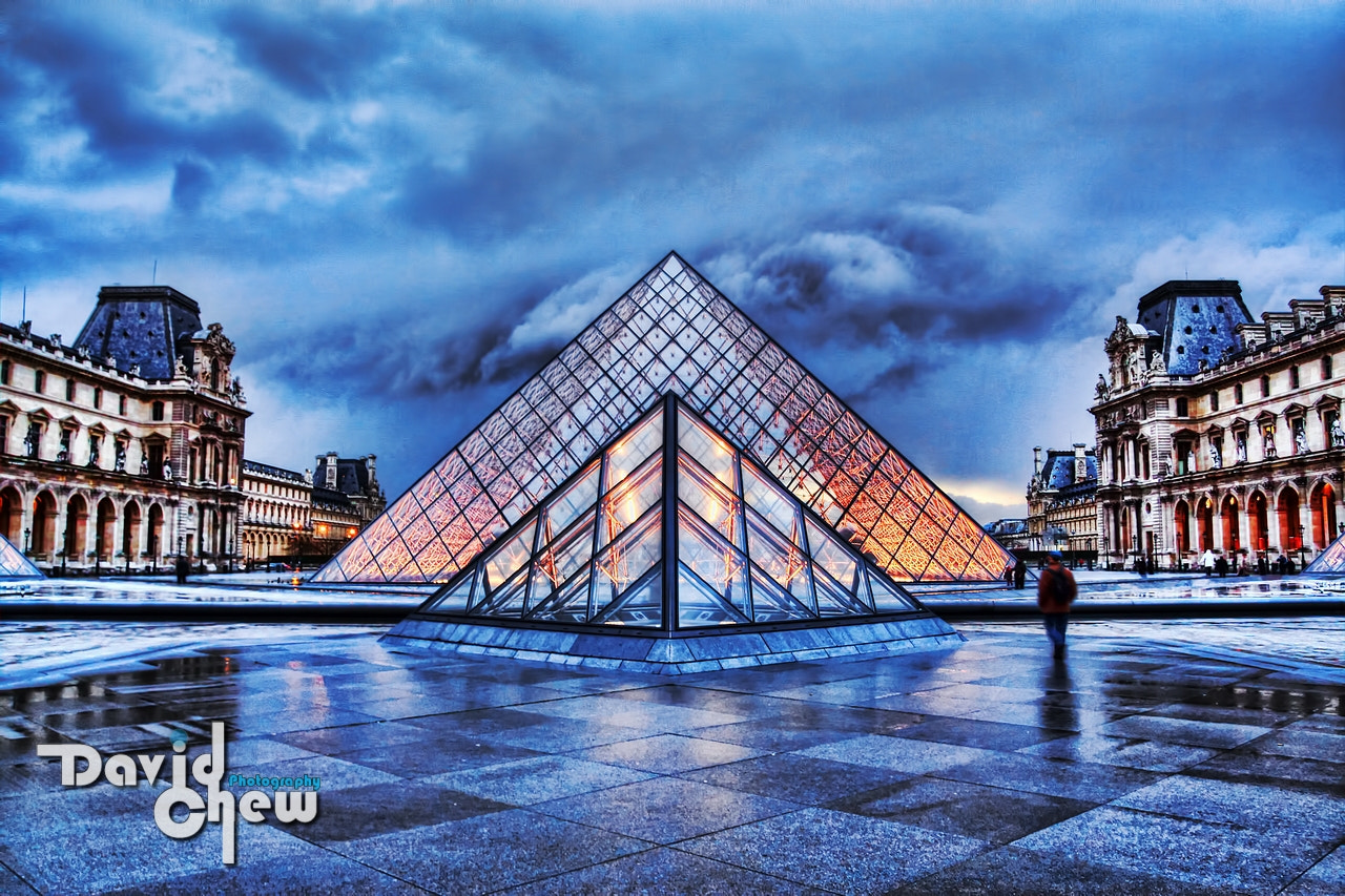 Photograph Louvre Pyramid by David Chew on 500px
