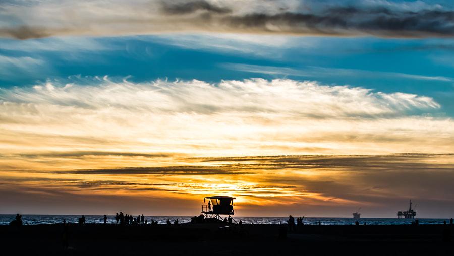 Sunset Huntington Beach by James Martin on 500px.com