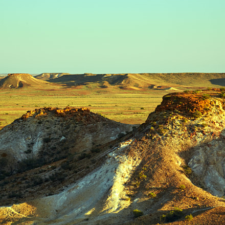 The Breakaways near Coober Pedy
