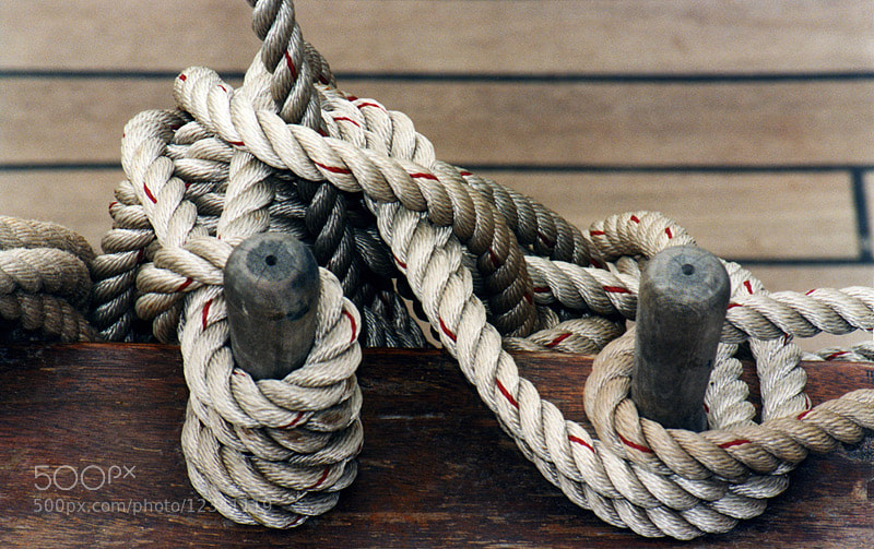 Photograph ROPES ON THE NAUSIKAA.. by Magda Indigo on 500px