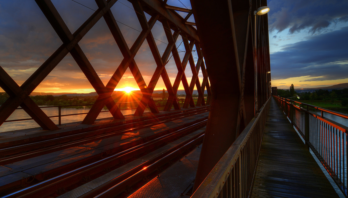 Photograph Sunset at the old bridge by Alexander  Veltens on 500px
